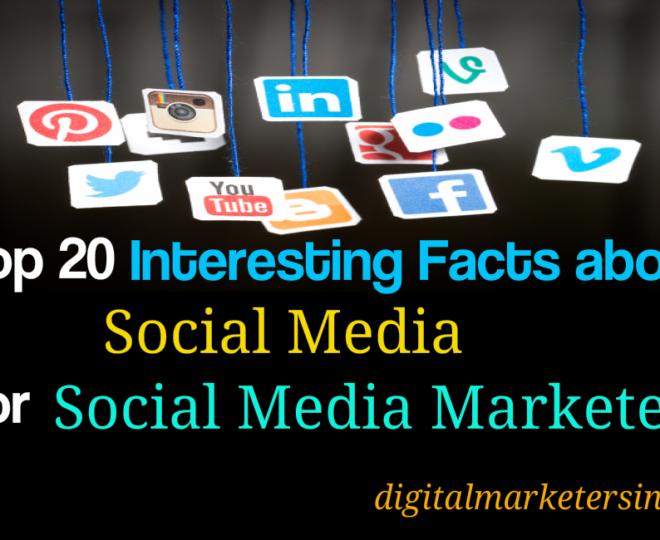 Top 20 Social Media Facts