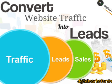 How To Covert Website Traffic Into Lead Effectively?