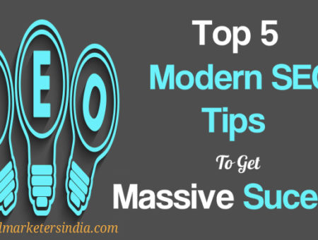 Modern Day SEO: Top 5 Things That Give Massive Success In SEO Projects
