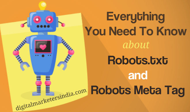 Robots SEO Guide for Beginner - Digital Marketerrs India
