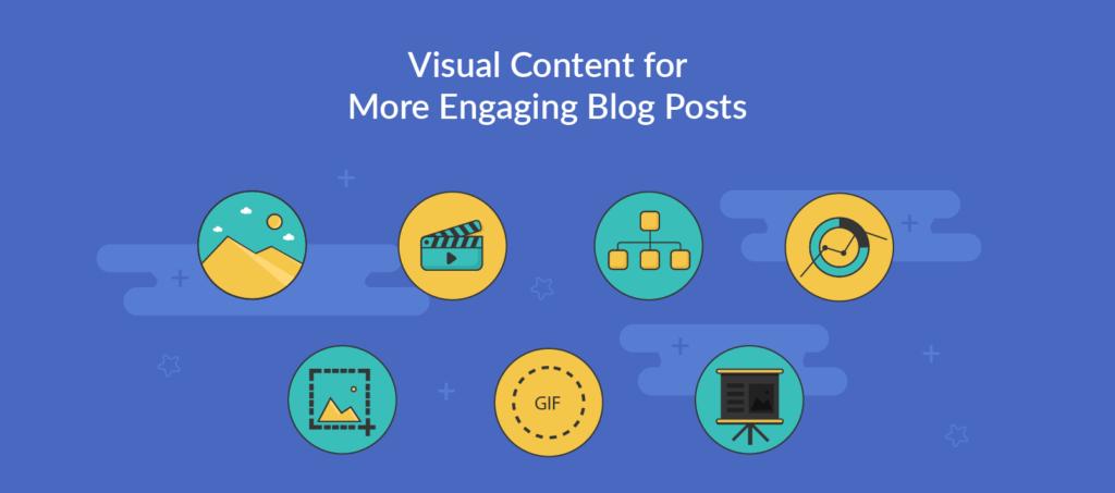 Visually engaging content