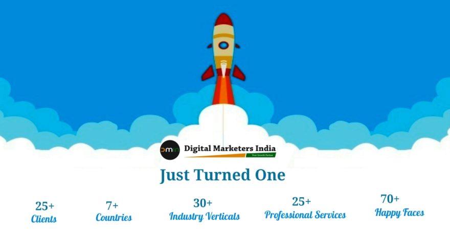 Happy Birthday Digital Marketers India