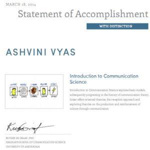 communication science - ashvyasseo